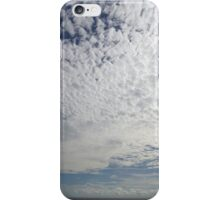 Fluffy Clouds at sea off Somalia iPhone Case/Skin