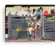Bull Rider Canvas Print