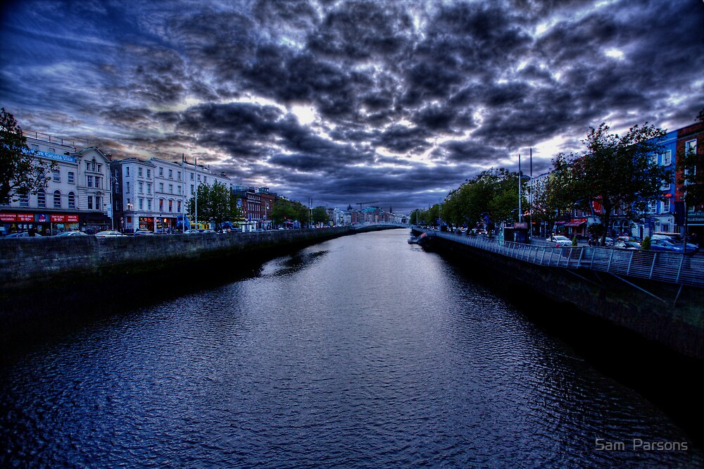 Heavens over Dublin by Sam  Parsons