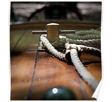 Mahogany Deck - Antique Boat Poster