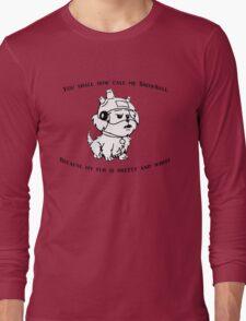 Snowball Rick and Morty Long Sleeve T-Shirt