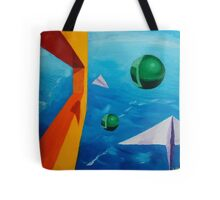 The Wind - Fine Art Painting Tote Bag