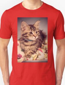 Relaxed kitten T-Shirt