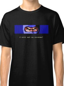 Ninja Revenge on black Classic T-Shirt