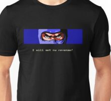 Ninja Revenge on black Unisex T-Shirt