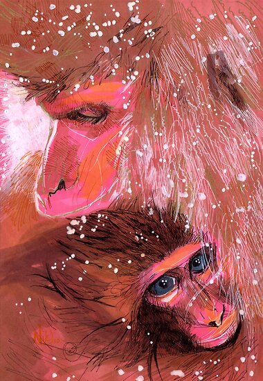 Baby Monkey by Nikki Cooper