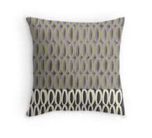 Oval Bubbles Throw Pillow