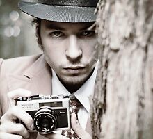 The Intense Photographer by Daniel  Barrie