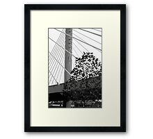 This is our bridge Framed Print