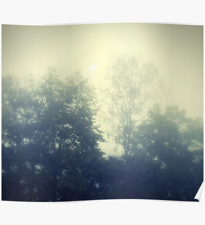 Sunday in the mist Poster