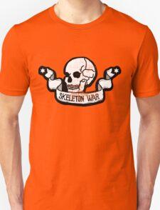 Skeleton War Emblem Unisex T-Shirt