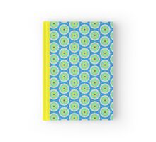 Pattern 503 - Blue, Green & Yellow Hardcover Journal
