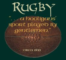 Rugby. . A Hooligans' Sport. . . by Kevin  Whitaker