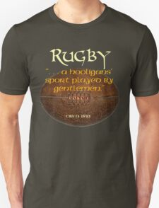 Rugby. . A Hooligans' Sport. . . T-Shirt