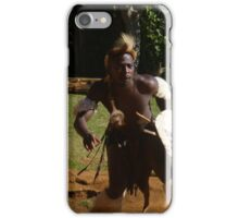 Zulu Warrior Dance in Durban, South Africa iPhone Case/Skin
