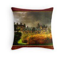 Heriot's framed Throw Pillow