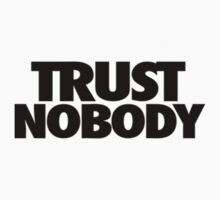 "Tupac ""TRUST NOBODY"" Official Label by VisionaryCS"