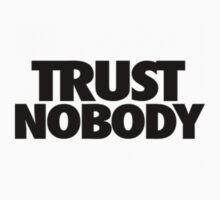 "Tupac ""TRUST NOBODY"" Official Label [Fit] by VisionaryCS"