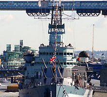 HMS Belfast by Chris Day