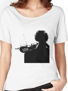 I Play the Violin When I'm Thinking Women's Relaxed Fit T-Shirt
