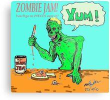 Zombie jam Metal Print