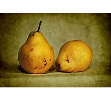 dos pear Photographic Print