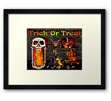 Trick Or Treat! Framed Print