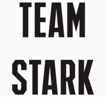 Civil War: Team Stark Baby Tee