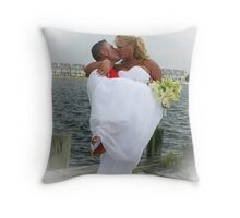 Wedding Happiness Throw Pillow