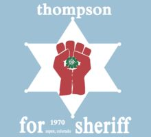 Thompson For Sheriff Kids Tee