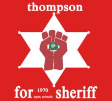 Thompson For Sheriff Baby Tee