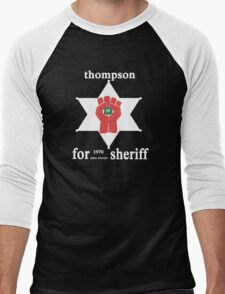 Thompson For Sheriff Men's Baseball ¾ T-Shirt