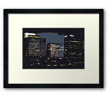 Dark Bankers Framed Print