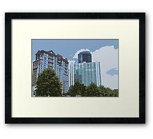 Bluebucks Framed Print