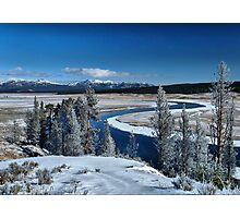 The serenity of Winter Photographic Print