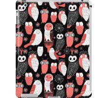 pattern different owls iPad Case/Skin