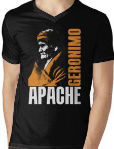 GERONIMO-APACHE Mens V-Neck T-Shirt