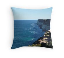Cliffs (1) Throw Pillow
