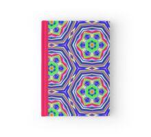 Pattern 510 - Pink, Green, Blue & Yellow Hardcover Journal