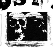 GHOST B.C. UNIVERSITY - BLACK Sticker