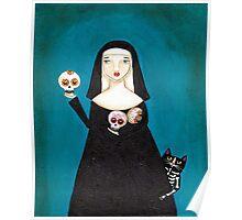 Sister Ann's Skulls Poster