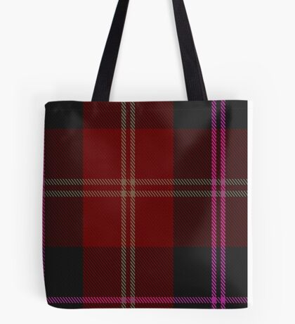 02820 Eglington Fashion Tartan  Tote Bag