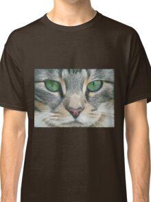 Emerald Eyes Scratch Art Classic T-Shirt