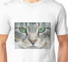 Emerald Eyes Scratch Art Unisex T-Shirt