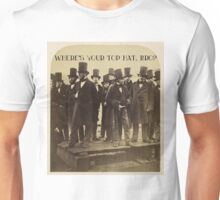 Where's Your Top Hat, Bro? Unisex T-Shirt