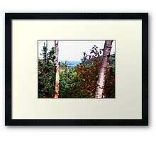 Cape Breton Autumn Framed Print