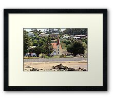 Uniting Church, Penguin, Tasmania Framed Print