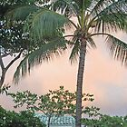 Palm Trees and Pink Sky by markrt