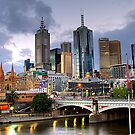 Melbourne @ Dusk by astroimages