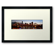 Story Bridge - Brisbane Framed Print